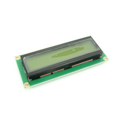 1602 LCD with Yellow-Green Backlight 5V