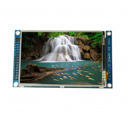 3.5'' LCD Module with Touchscreen with ILI9686 and XPT2046 Controller (320x480 px)