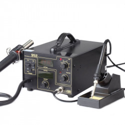 Hot Air Soldering Station 952 with Letcon and Digital Display