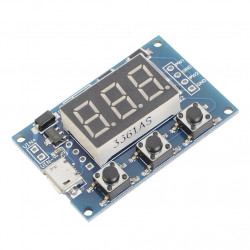 Dual Adjustable PWM Signal Generator with Display and Serial Interface
