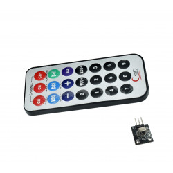 Infrared Remote and Receiver Module with battery