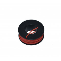 Silicone Wire Roll (Red)