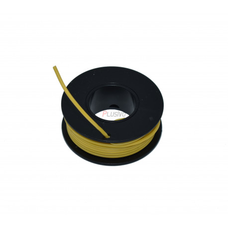 Silicone Wire Roll (Yellow)