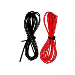 Black 22AWG and Red 22AWG Wire