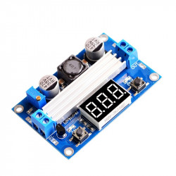 LTC1871 Adjustable DC-DC Step-up Voltage Converter with Display