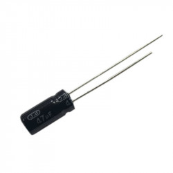 Electrolytic Capacitor 47 uF, 10 V, 4x7 mm