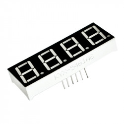 """0.56'' 4 Digit LED Display Common Anode"