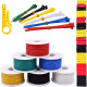 Hookup Wire Kit (6 colors, 5 m each, AWG 18, Stranded Wire) Silicone Jacket