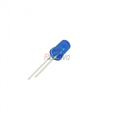5 mm Blue LED with Difused Lens