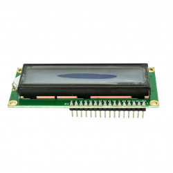 1602 LCD Module with 5 V Blue Backlight and Pins