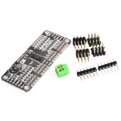 PCA9685 PWM Servo Motor Driver (compatible with Raspberry Pi and Arduino)
