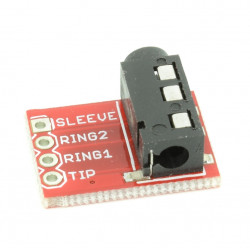 3.5 mm Stereo Audio Jack Module