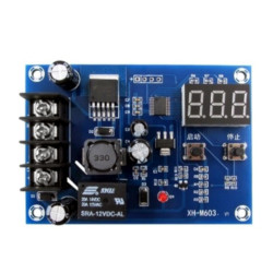 Charge Controller Module for Batteries 12-24 V with Protection