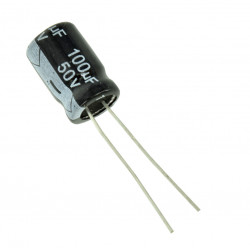 Electrolytic Capacitor 100 uF, 50 V