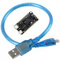 ESP32 Wireless Development Board with BLE (4 MB memory) + 50 cm USB Cable