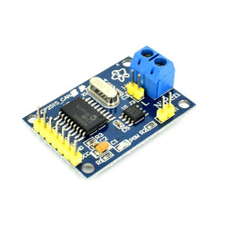 MCP2515 CAN Controller with TJA1050 Driver and SPI Interface