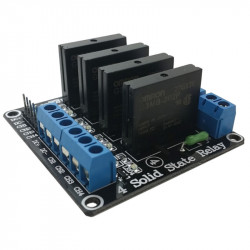 4 Solid State Relays Module (250 V, 2 A)