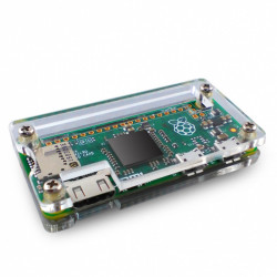 Transparent Plastic Case for Raspberry Pi Zero