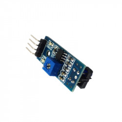 TCRT5000 Infrared Line Sensor Module with Adjustable Sensitivity