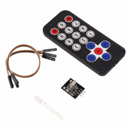 Infrared Remote and Receiver Module Kit