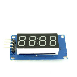 LED Display Module with Serial Interface ( TM1637 Chip)
