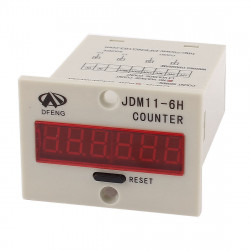 JDM11-6H Resettable 0-999999 counter