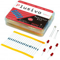 Plusivo Resistor Assortment Kit - 10Ω to 1M (600pcs)