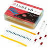 Resistor Assortment Kit - 10Ω to 1M (600pcs)