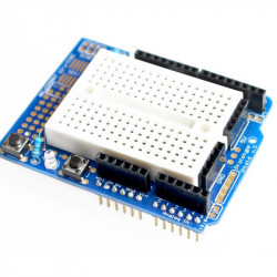 Arduino Proto Shield with Mini Breadboard