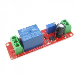 Monostable Relay Module with Adjustable Delay