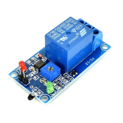 Relay Module with Temperature Sensor