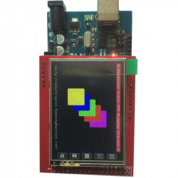 2.4'' LCD Shield for Arduino Mega