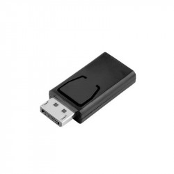 Displayport Male - HD Female Adapter - Black