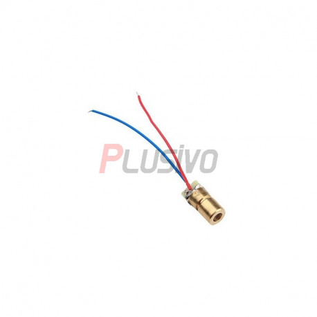 6 mm Red 3V Laser Diode Module