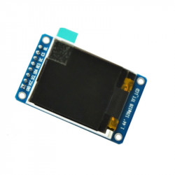 1.44'' SPI LCD Module with ST7735 Controller (128x128 px)