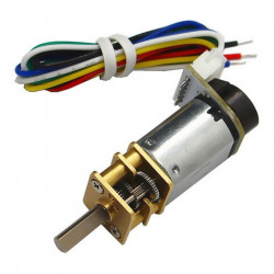 CGM12-N20VA-8200E Micro Gearmotor 1:380 with Encoder (3 V, 20 RPM)
