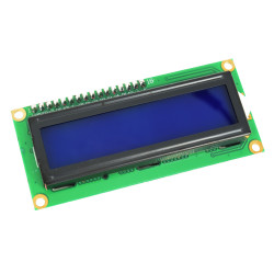 1602 LCD with I2C Interface and Blue Backlight