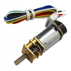 CGM12-N20VA-8200E Micro Gearmotor with Encoder (3 V, 298 RPM)