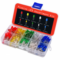5mm and 3mm LED Assortment kit (400 pcs)