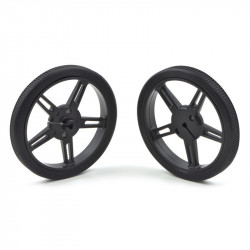 Pololu Wheel 60×8mm Pair - Black