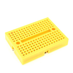 SYB-170 Colored Mini Breadboard (yellow)