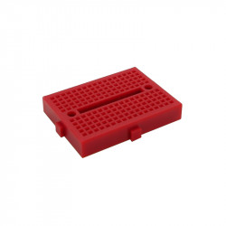 SYB-170 Colored Mini Breadboard (red)
